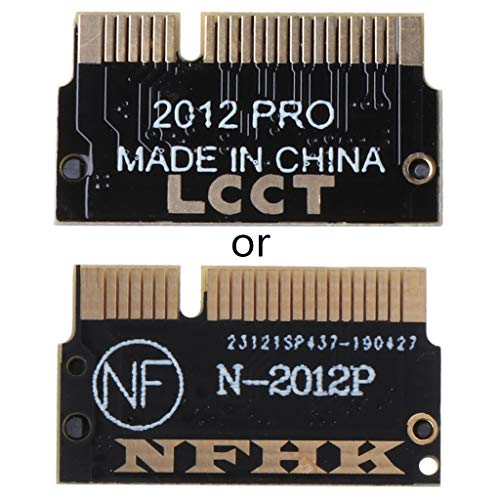 Meipai M.2 NG-FF M Key SSD to Compatible for Mac-Book Pro -Retina 2012 A1398 A1425 Adapter Converter Card