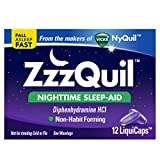 Vicks ZzzQuil Nightime Sleep Aid, 12 LiquiCaps
