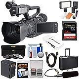JVC GY-HM170U Ultra 4K HD 4KCAM Professional Camcorder & Top Handle...