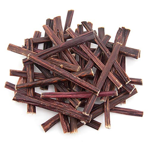 GigaBite Free Range Bully Taffy Esophagus Gullet Sticks Dog Treats by Best Pet Supplies - 6 Inch, Pack of 100 (TEP-06-100)
