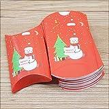 neue Designs Kissenbox Jelry & Halskette & Ohrring Box Weihnachten Geschenke Paketbox Niedliche Animlas Baby Show Paket-gleiche wie Foto, 12box12necklace Karte