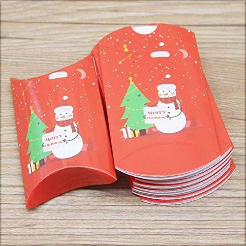 Neue Designs Kissenbox Jelry & Halskette & Ohrring Box Weihnachtsgeschenke Paketbox Nettes Animlas Baby Show Paket - wie Foto, nur 12 Box