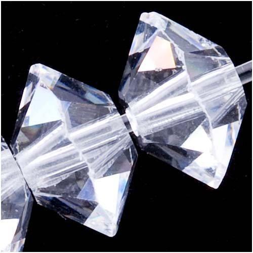 Swarovski ELEMENTS Rondelle Spacer Beads #5305 6mm Crystal (8)