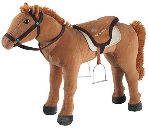 Bibi & Tina 736276 Plüschtier, Pferd, Reittier, braun