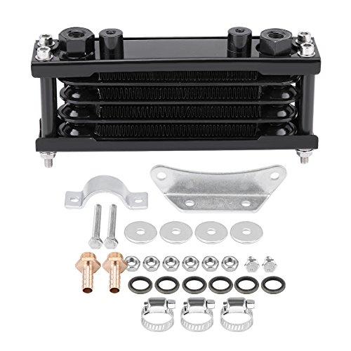 Kit de enfriador de aceite de motor universal para motocicleta, radiador de refrigeración para moto, Dirt Bike 50CC-200CC