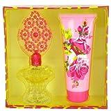 Betsey Johnson By Betsey Johnson Gift Set -- 3.4 Oz Eau De Parfum Spray + 6.7 Oz Body Lotion For Women
