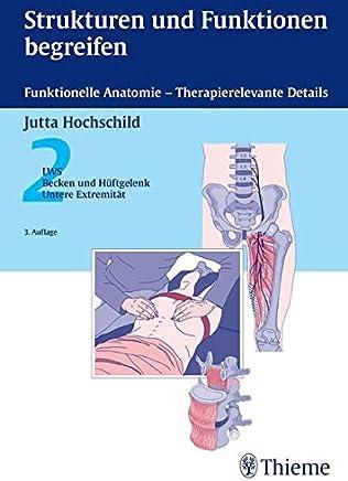 Strukturen und Funktionen begreifen Funktionelle Anatoie 2 LWS Becken Hüftgelenk Untere Extreität PhysiofachbuchJutta Hochschild