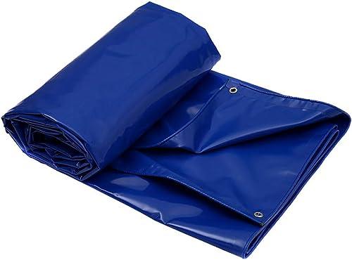 Party Girls S Bache de Sol en Toile imperméable résistante pour Tente d'extérieur 650 g m2 (Couleur   Bleu, Taille   4 × 3 m), Bleu, 3×3m