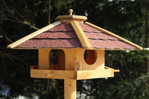Vogelhaus PIEPMATZ + Ständer Futterhaus Vogel Haus Vogelfutterhaus Vogelhäuschen - 5