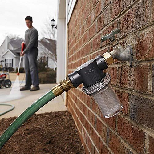 WUYANSE Sedimentfilteraufsatz Gartenzubehör für Hochdruckreiniger und Gartenschläuche