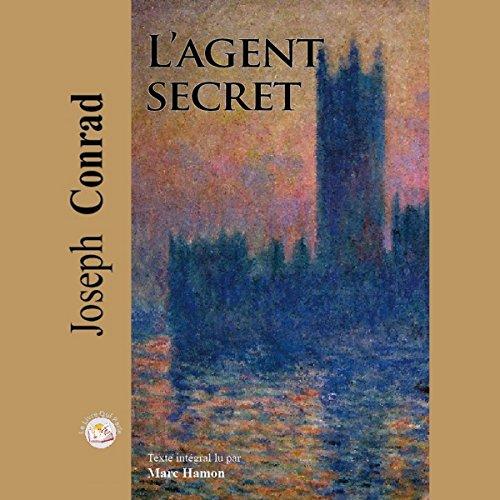 L'Agent secret audiobook cover art