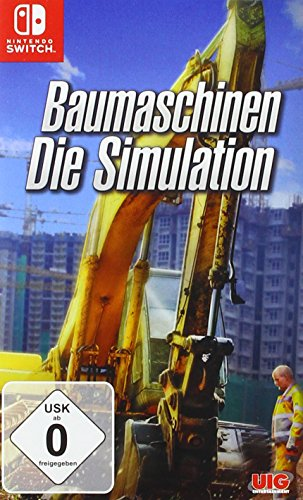 Baumaschinen - Die Simulation. Nintendo Switch