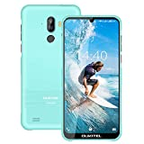 OUKITEL Y1000 Unlocked Phones, Rugged Smartphone Android 9.0 Phones IP68 Waterproof 6.1' 32+2GB/128GB Expandable Face ID&Fingerprint Unlock Dual Sim Phone(Light Blue)