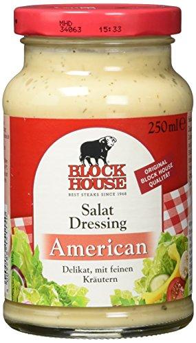 Block House Salat Dressing American, 8er Pack (8 x 250 g)