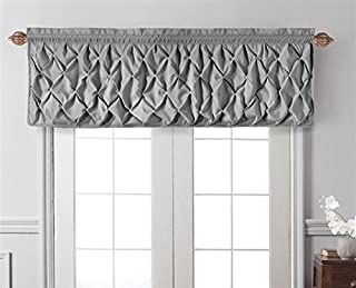 Magnificent Amazon Com Grey Valences Draperies Curtains Home Ncnpc Chair Design For Home Ncnpcorg