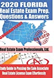 Image of 2020 Florida Real Estate Exam Prep Questions & Answers: Study Guide to Passing the Sales Associate Real Estate License Exam Effortlessly