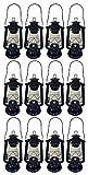 Shop4Omni Black Hurricane Kerosene Lantern Wedding Hanging Light Camping Lamp - 12' (12)