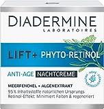 DIADERMINE Lift+ Phyto-Retinol Nachtpflege Anti-Age Nachtcreme, 1er Pack (1 x 50ml)