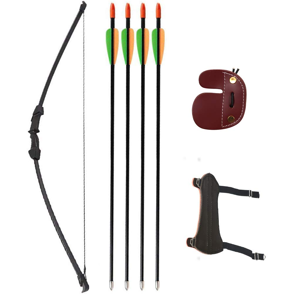 25 Lb Bow and Arrows Set for Archery Combat Tag Game Larp Archery