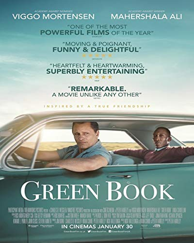 The Green Book - Poster - cm. 30 x 40 - Shipped Rolled Inside Heavy Tube
