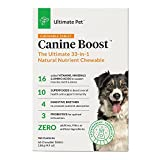 Ultimate Pet Canine Boost 33 in 1 Dog Food Booster, 60 Chewable Tablets