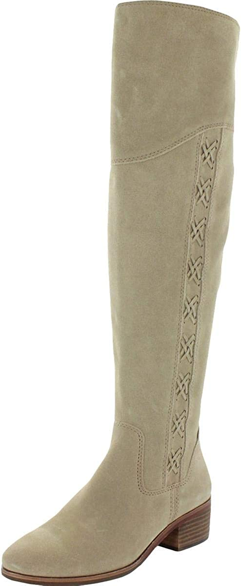 Vince Camuto KREESELL2 Wide sale Calf Max 45% OFF Notch Boot Knee Taupe Over