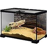 WYYH Terrario Reptiles Completo, Tire del Interruptor Se Puede Apilar Fácilmente Terrario Gecko Caracoles Anfibio Terrario La Rana Cornuda Lagarto Serpiente Camaleón Araña Hábitat De Invierno A