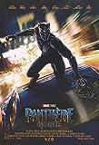 BLACK PANTHER (2017) Original Authentic Movie Poster 27x40 - Dbl-Sided - French Version - Chadwick Boseman - Andy Serkis - Michael B Jordan - Lupita Nyong'o