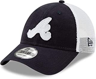New Era Atlanta Braves Team Truckered 9FORTY Adjustable Hat/Cap