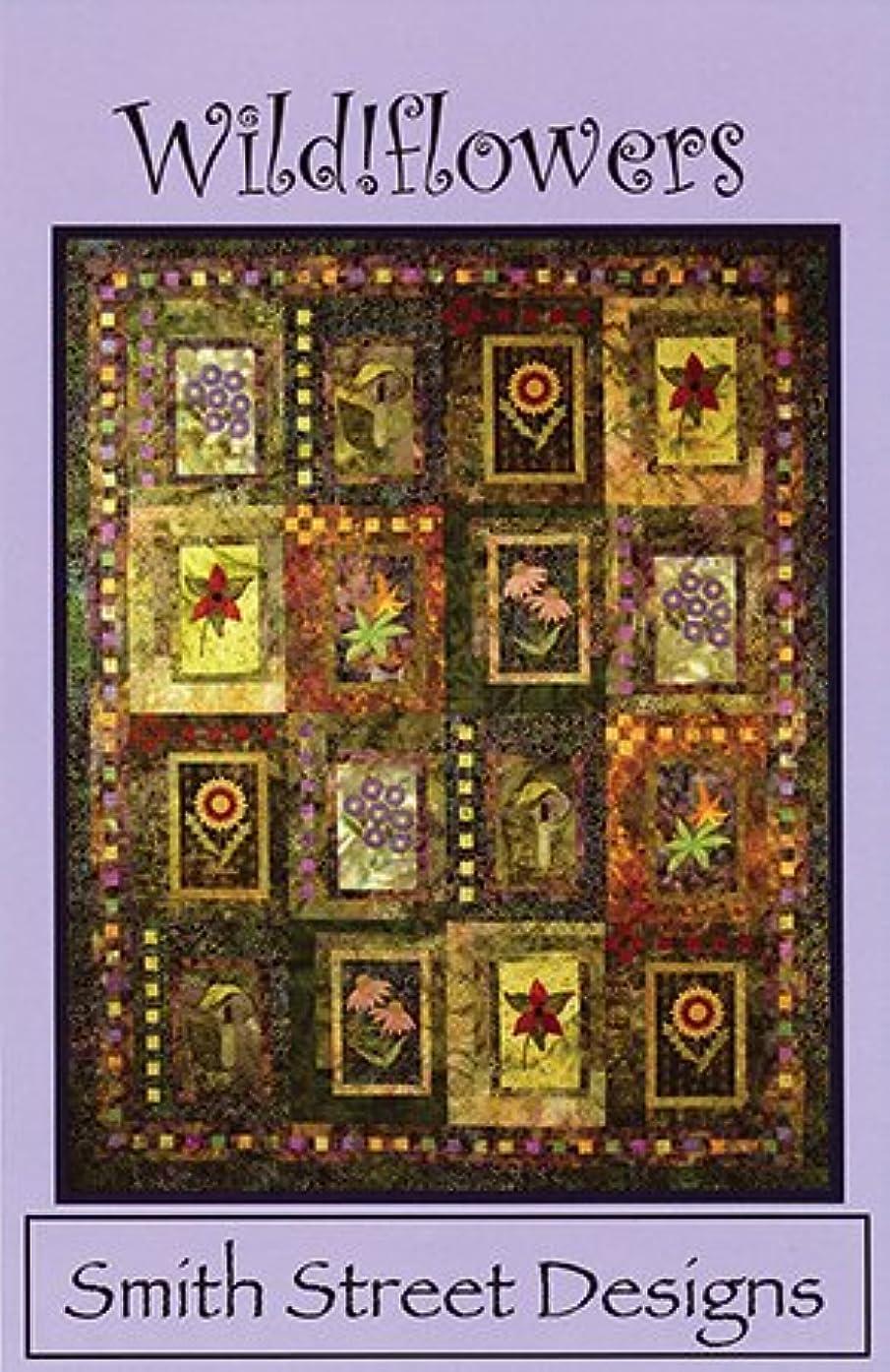 Wild!flowers Quilt Pattern