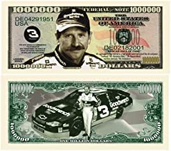 American Art Classics Pack of 5 - Dale Earnhardt Sr. Senior Million Dollar Bill