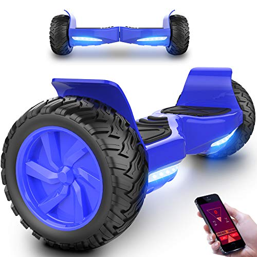 Scooter Elettrico Hover Board Scooter SUV con Ruote 8.5 Inch LED