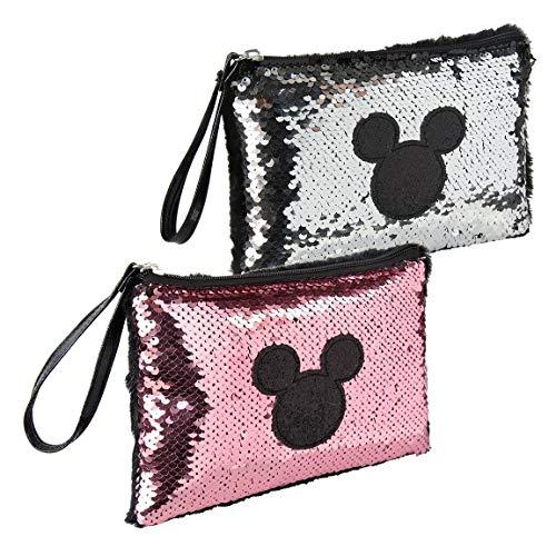 Mickey Mouse Bolso de Fiesta Lentejuelas Mickey