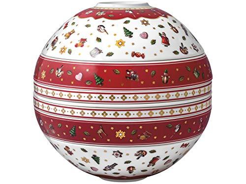 Villeroy & Boch Toys Delight La Boule, Premium Porcelain, weiß, 24 x 24 cm