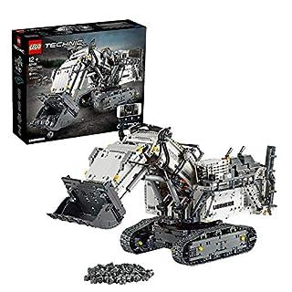 LEGO42100TechnicControl+LiebherrR9800ExcavatorAppControlledAdvancedConstructionSetwithInteractiveMotorsandBluetoothConnectivity (B07NDBGW4G) | Amazon price tracker / tracking, Amazon price history charts, Amazon price watches, Amazon price drop alerts
