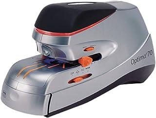 Rexel Optima Stapler Elec Optima70 70Sht Org/SLV
