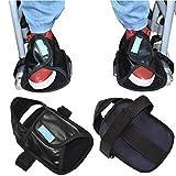 OUUCL-WALKER Rollstuhl-Constraint-Schuhe - Medical Fuß Griffige Proctors Waschbar Nonslip Rollstuhl Pedal Wrap Fußstützen Abdeckung Anschnallriemen (1 Paar) -