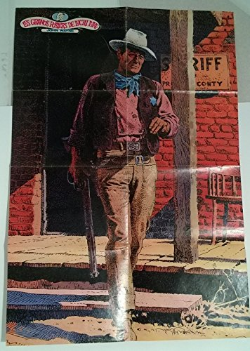 Giraud - Les Grands posters de Lucky Luke : John Wayne - 56 x 82 cm