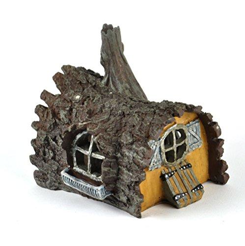 Log House Fairy Home - Fiddlehead Fairy Garden Collection