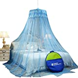 Best Round Bed - Classic Mosquito Net ,Round Ceiling Hanging Double Bed Review