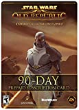 Star Wars: The Old Republic - 90 Day Prepaid Subscription Game Time Card [Online...