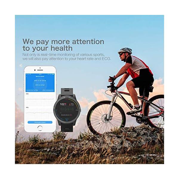 PRIXTON – Reloj Inteligente Smartwatch para Android e iOS con Electrocardiograma, Presión en Sangre, Pulsometro… 7