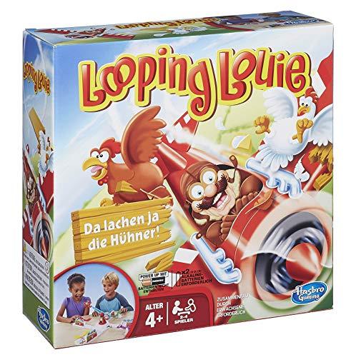 Hasbro 15692398 - Looping Louie, edizione 2015, Gioco da tavolo (richiede batterie) [lingua tedesca]