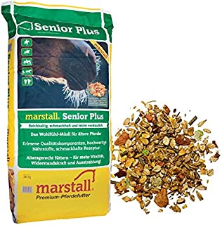 marstall Premium-Pferdefutter Senior Plus, 1er Pack (1 x 20 kilograms)