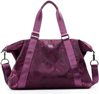SYFO Portable Sports Fitness Bag Features Large Capacity Short Travel Travel Business Bags Unisex Multipurpose Design (Color : Purple)