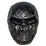 Marauders Takers Mask, PVC Justice League Batman Robber Full Face Tactical Airsoft Mask Halloween Cosplay Costume Props