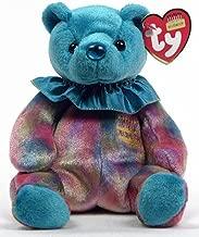 Ty Beanie Baby December Turquoise Birthstone Teddy Happy Birthday Bear