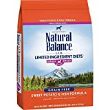 Natural Balance L.I.D. Limited Ingredient Diets Small Breed Bites Dry Dog Food, Sweet Potato & Fish Formula, 12 Pounds (Discontinued by Manufacturer)