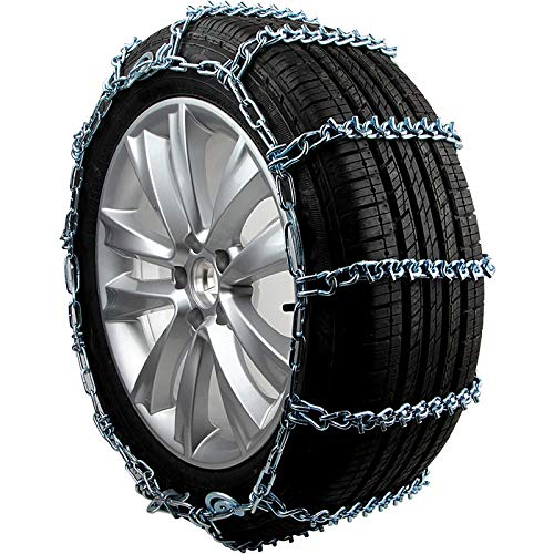Super-ZS 2 × Cadena de Nieve para neumáticos de automóvil, cifrado Todo Incluido Negrita rompehielos Cadena de Nieve de Metal...