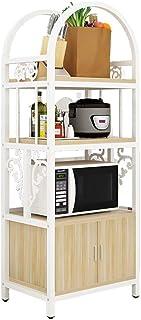 Rangement Cuisine Organisateur étagère Multi-fonction micro-ondes étagères de cuisine Rack Spice Rack, Tidy cuisine en aci...